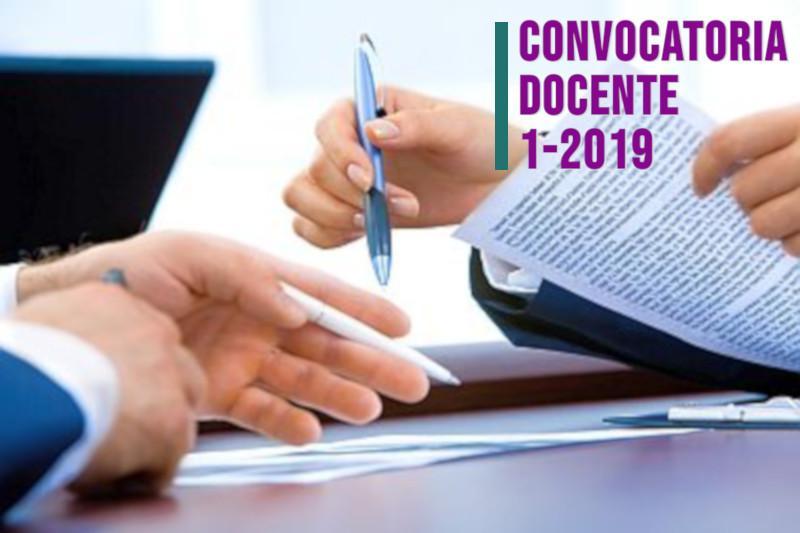 CONVOCATORIA DOCENTE