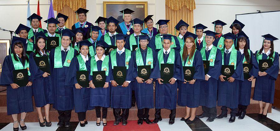 La UNITEPC titula a 26 nuevos profesionales para el país
