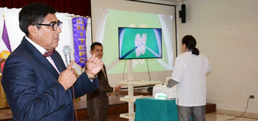 UNITEPC concluyó el primer Curso de Entrenamiento en Cirugía Laparascópica
