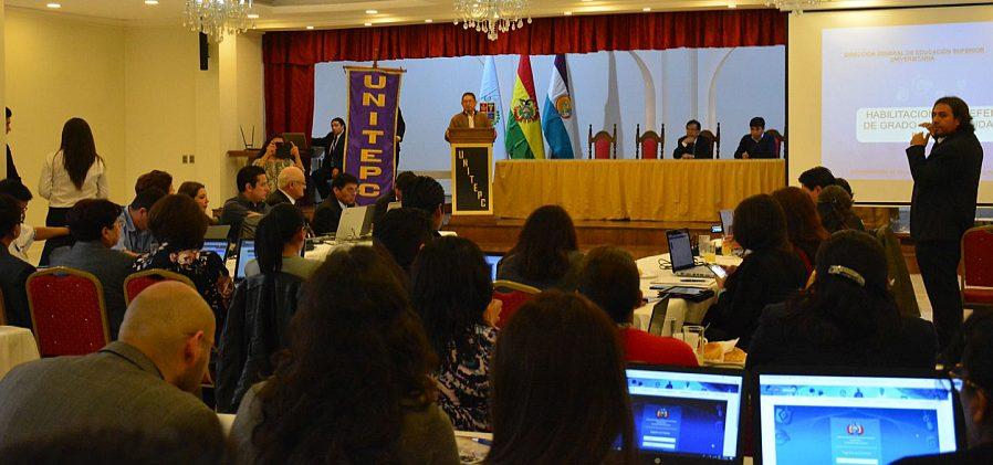 Ministerio de Educación capacita a funcionarios de universidades privadas del país