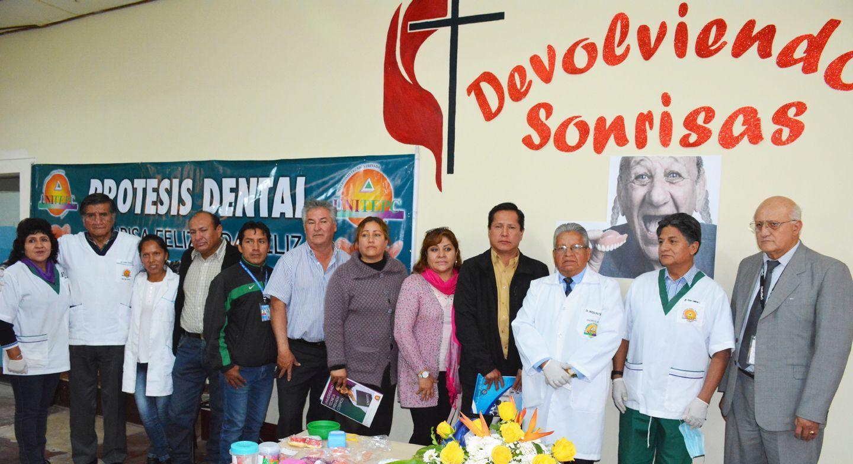 UNITEPC le devuelve la sonrisa a 50 adultos mayores de Mallco Rancho