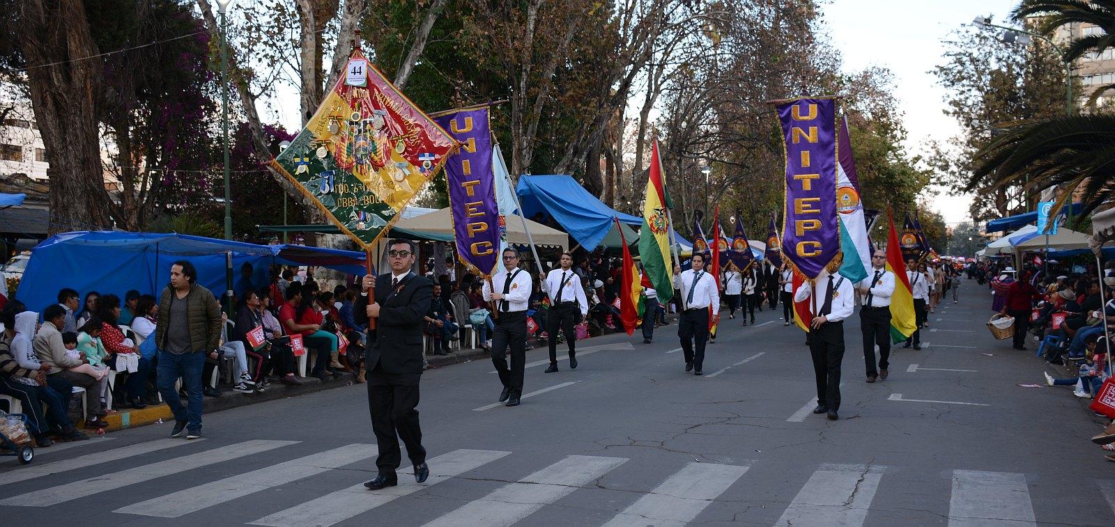 Desfile 6 de Agosto 2018