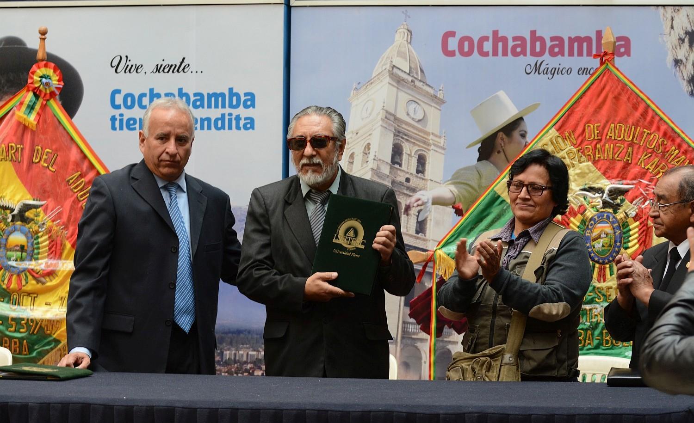 UNITEPC y la Federación del Adulto Mayor firman un convenio para fortalecer la salud y la educación